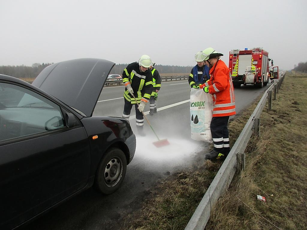 Kraftfahrzeugbrand klein (FK1)