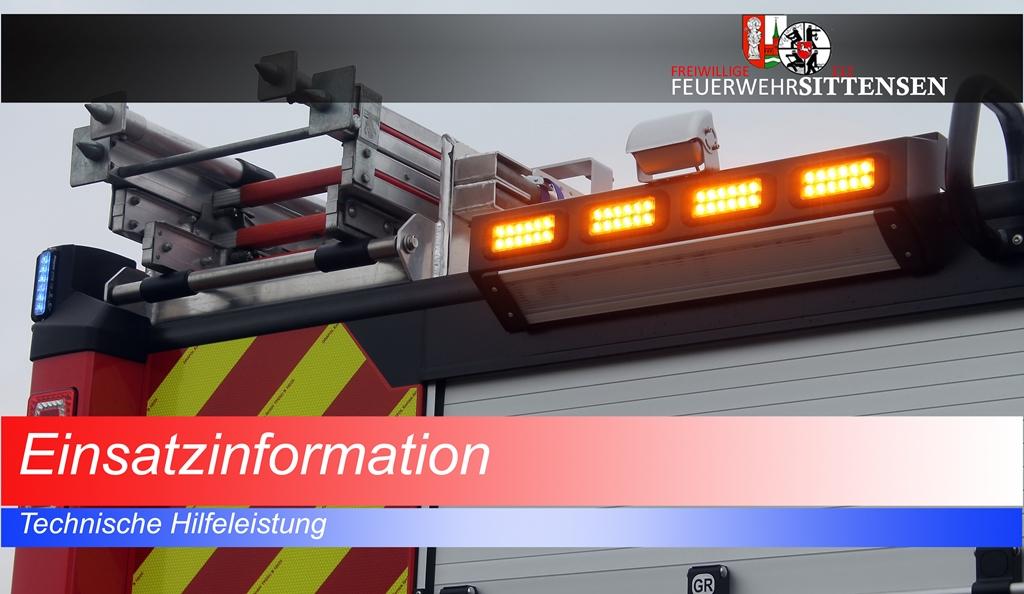 Technische Hilfeleistung - Tür verschlossen (THV)