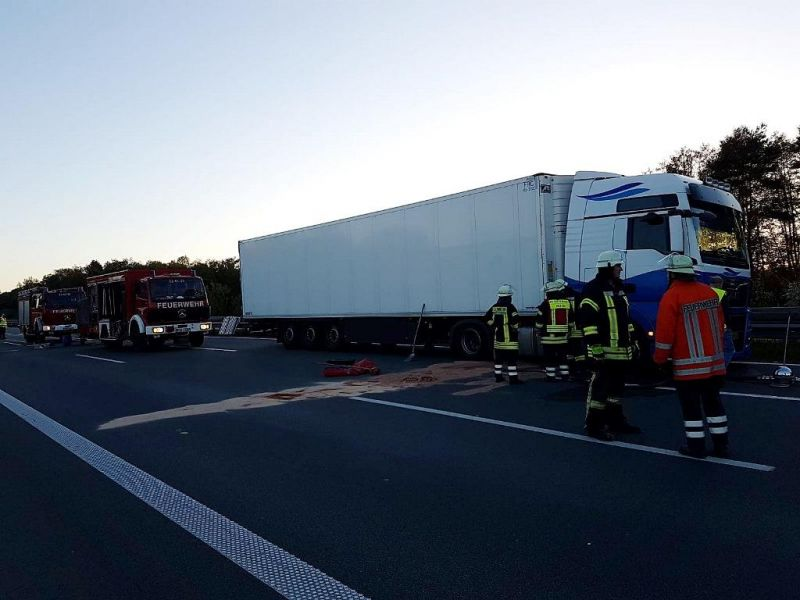 Technische Hilfeleistung - Straßenverunreinigung (THS)