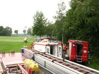 2015-07-29 Verkehrsunfall Ippensen - Sellhorn Quelle A.Schroeder (Pressesprecher Samtgemeinde-Feuerwehr Sittensen (2)