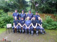Die Gruppe der Sittenser Feuerwehr