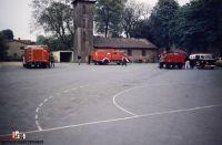 Vor dem damaligen Feuerwehrhaus in der Königshofallee beim Ludwig-Otto-Ehlers HAus (2)