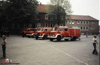Vor dem damaligen Feuerwehrhaus in der Königshofallee beim Ludwig-Otto-Ehlers HAus (1)