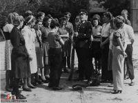 Frauen bei der Ausbildung 1944. Quelle_ Archiv Gemeinde Sittensen